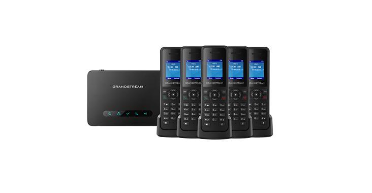محصول جدید گرنداستریم تلفن تحت شبکه قابل حمل DP750 , DP720